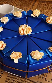 10 Pièce / Set Titulaire de Faveur-Pyramide Papier nacre Boîtes à cadeaux Non personnalisé