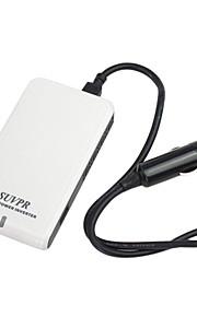 100W Car Slim Power Inverter 12V DC to 220V AC & USB Port