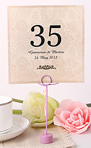 Place Cards and Holders Personalized Square Table Number Card - Golden Age