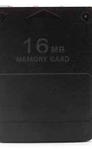 16 MB memory card til PS2 (sort)