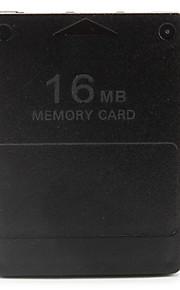 16 MB geheugenkaart voor PS2 (zwart)