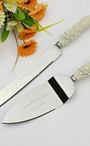 Serving Sets Wedding Cake Knife Personalized Elegant  Cake Serving Set In Resin Handle