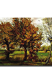 """Hand-painted Famous Oil Painting with Stretched Frame 24"""" x 36"""" by Van Gogh"""