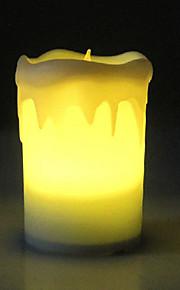 0.5W LED ricaricabile candela lampada da tavolo in vetrina