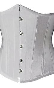 superbe satin bretelles devant Busk corsets shapewear de fermeture (plus de couleurs) lingerie sexy shaper