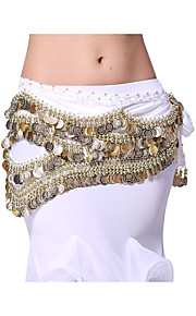 Performance Dancewear 488 Coins Velvet Belly Dance Belt For Ladies More Colors
