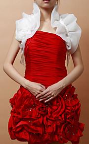 sans manches en satin occasion spéciale veste de soirée / mariage wrap (plus de couleurs) bolero haussement