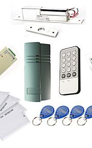 Enkele Deur Controller Kits met IR Toetsenbord Electric Bolt, 10 EM-ID-kaart, Power Supply)