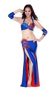 Ydelse Dancewear Spandex Belly Dance Outfit til damer Flere farver