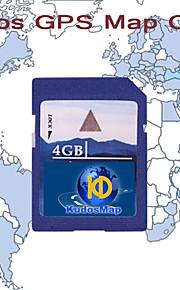 KUDOS Noord-Amerika Kaart (SD-kaart-4G)