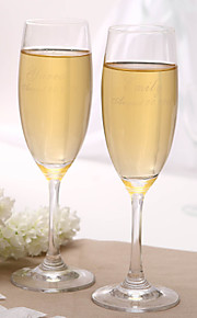 Personalized Classic Toasting Flutes
