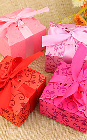 Assez florale Boxes Favor thème - Ensemble de 12 (plus de couleurs)