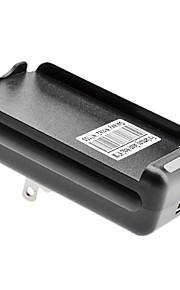 Amerikaanse Battery Charger met USB-uitgang voor Samsung Galaxy Note2/N7100