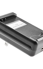 EE.UU. cargador de baterías con salida USB para MOT BP6X A855 (4.2v/5.2v)