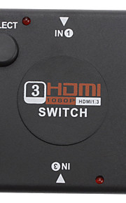 3 til 1 HDMI Switcher for PS3/Xbox360/PC