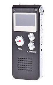 Multifunktionel Digital Voice Recorder med LCD display (4 GB)