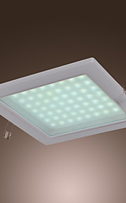 4w modernă a condus lumini flush mount formă pătrată