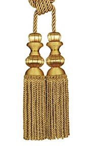 TWOPAGES® Classic Polyester Tassel (One Pair)