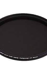 FOTGA 82mm delgado Fader ND Filtro de densidad neutra variable ajustable ND2 a ND400
