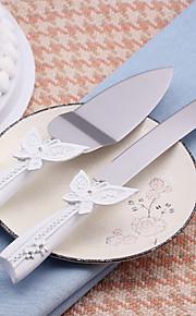 Serving Sets Wedding Cake Knife Beautiful Butterfly Design Cake Knife/Server Set