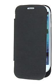 PU Læder Power Case med batteri og Stand til Samsung Galaxy S3 I9300 (assorterede farver, 3200mAh)
