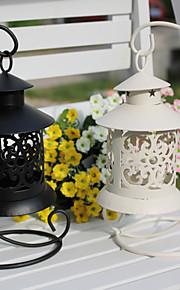 結婚式の装飾レトロhangting鉄製のキャンドルホルダー(もっと色)