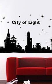 Valon kaupunki Maisema Wall Tarrat