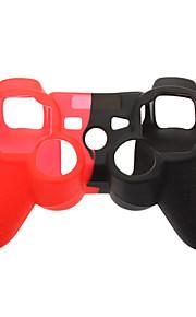 silikoni iho tapauksessa PS3 ohjain (valikoituja väri)