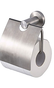Contemporary Durable Stainless Steel Toilet Paper Holder