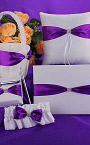 Purple Bow Wedding Collection Set (5 Pieces)