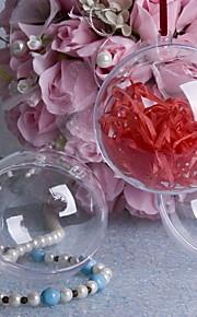 装飾のための結婚式の装飾のプラスチック透明なボール