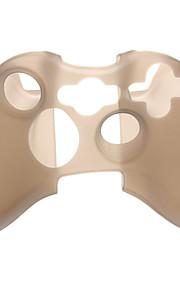 Anti slip controller siliconen case voor de Xbox360 (zwart)