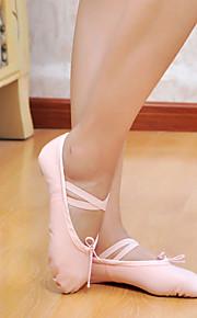 высокое качество холста верхний танцевальной обуви балета тапочки для женщин и мужчин больше цветов