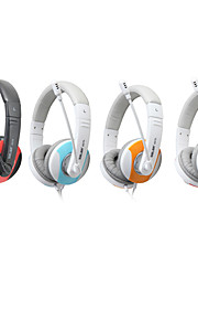 Salar A575 Fasjonable Stereo Over-Ear hodetelefon med mikrofon og fjernkontroll for PC / iPod / iPhone / Samsung / HTC