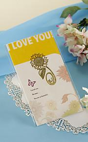 Golden Sunflower Bookmark