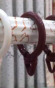 360 Rotatable Cortina Clipe Ring (diâmetro 3,5 cm)