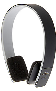 On-Ear Smart Bluetooth Sport Volume Control stereo hovedtelefoner til Iphone Android (sort)