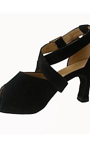 Sexy Velvet danse latine Chaussures sandales féminines (plus de couleurs)
