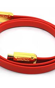 C-Cavo HDMI 1.4 maschio-maschio cavo TV-Type Red 3D HD TV (3M)