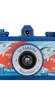 Lomo La Sardina 8Ball Camera 8Ball Otte Vidvinkel Film 35MM Lomography (Random farve)