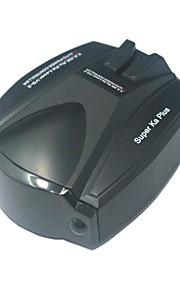 360 Fuld Grader Scanning engelsk og russisk talestemme Bil Radar Laser Detector E-hund