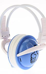3H-360 Opvouwbare FM stereoradio Plug-Card hoofdtelefoon stijl (rood, roze, paars, groen, geel, blauw, wit)