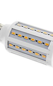 e27 12w 60x5630smd 960lm chaude lumière blanche / froid led ampoule de maïs (220-240V)