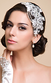 Femme Dentelle / Strass / Imitation de perle Casque-Occasion spéciale Serre-tête Comme l'image