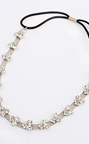 Frauenpunk Diamanten besetzte Haarband