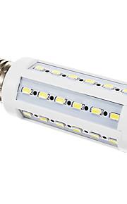 e27 9w 900lm 42x5630smd chaude lumière blanche / froid led ampoule de maïs (220-240V)