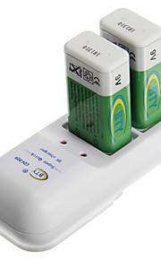 BTY gn99 batterijlader voor 9V met au-stekker (inbegrepen 1xbp9v300)