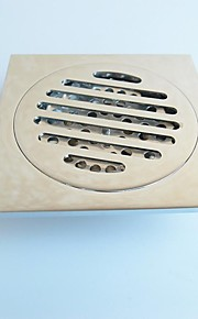"Drain / Chrome100*100*39mm(3.94*3.94*1.54"") /Brass /Contemporary /100mm(3.94"") 100mm(3.94"") 0.28KG"