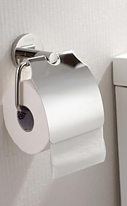Finition en acier inoxydable poli brillant Toilet Roll Holder