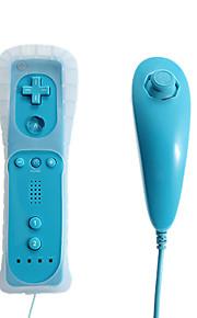 Remote og Nunchuk controller + Overtræk til Wii / Wii U